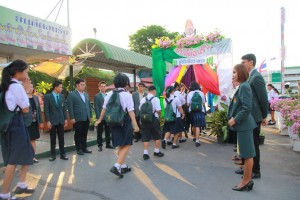 วันเปิดเทอมโรงเรียนสารวิทยา ปีการศึกษา 2559