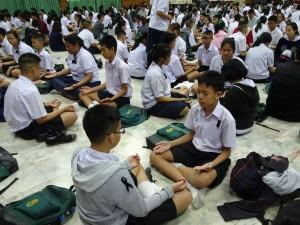 อบรมคุณธรรม จริยธรรมและกฏหมายเบื้องต้น นักเรียนชั้นม.2
