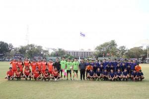 ฟุตบอลทีมครูชายพบทีมนักเรียนชายม.3