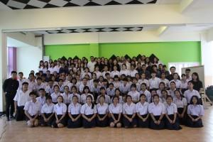 18 มกราคม 2560 นักศึกษามหาวิทยาลัยศรีนครินทรวิโรฒ ทดลองสอนภาษาเกาหลี