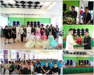ชมการเผยแพร่วัฒนธรรมจากจังหวัดช็อลลาเหนือ สาธารณรัฐเกาหลี