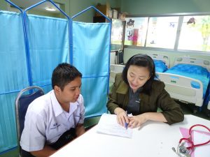 โรงเรียนต้นแบบเสริมสร้างความรอบรู้สุขภาพ(คัดกรองเด็กภาวะอ้วน)