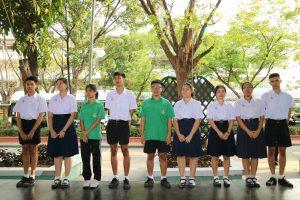 ประธานคณะกรรมการนักเรียน ปีการศึกษา 2561