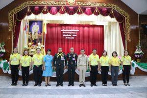 """อบรมเรื่อง """"สถาบันพระมหากษัตริย์ กับประเทศไทย"""" โดยวิทยากรจิตอาสา 904"""