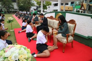 พิธีปัจฉิมนิเทศนักเรียนชั้นมัธยมศึกษาปีที่ 6 ปีการศึกษา 2562